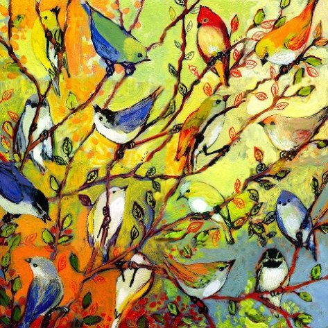 Birds in a Tree