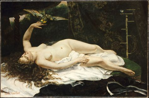 800px-1866_Gustave_Courbet_-_Woman_with_a_Parrot