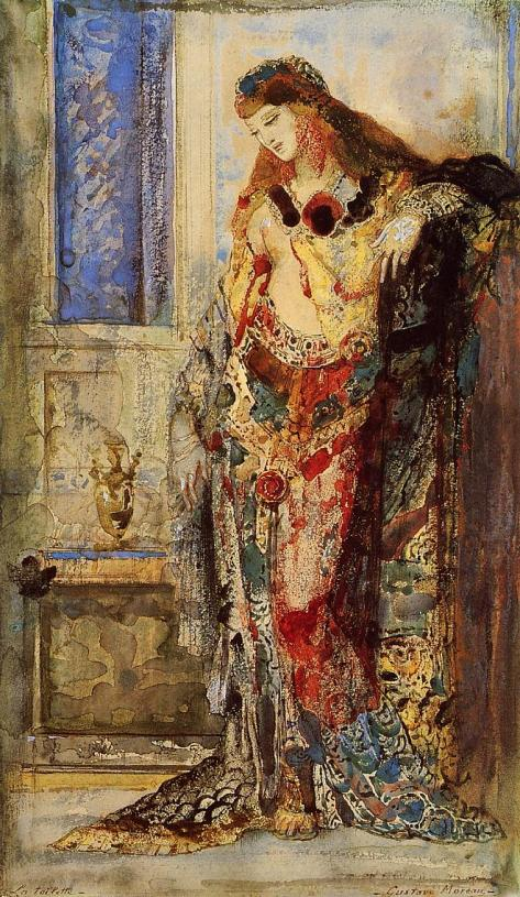 the-toilet-1890~Gustave Moreau