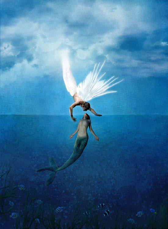 Real Falling Angels Heaven
