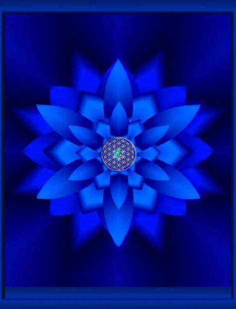 Blue Blue Mandala
