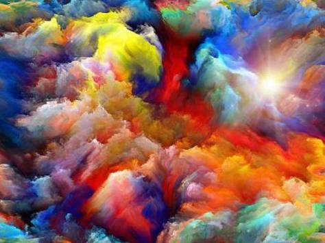 cosmic rainbow