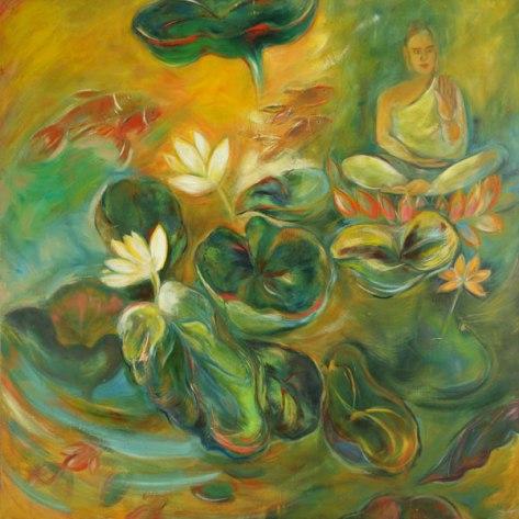 buddha-painting-sacred-mome