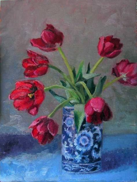 tulips_blue12x16