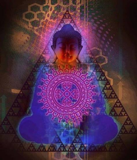 purple Buddha
