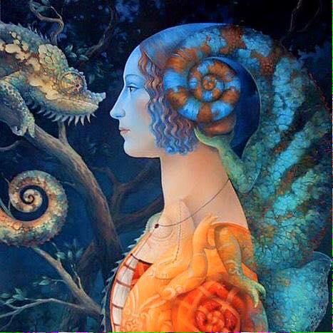 lizard goddess