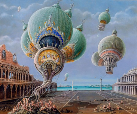 Elaborate-hot-air-balloon