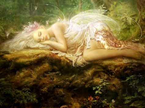 Fairy sleep