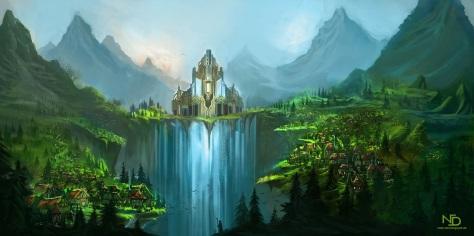 fantasy-waterfall